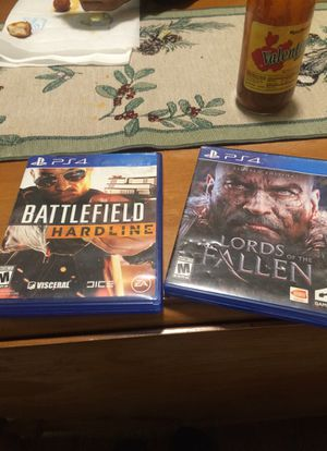 Battlefield Hardline & Lords of the Fallen for Sale in Knoxville, TN
