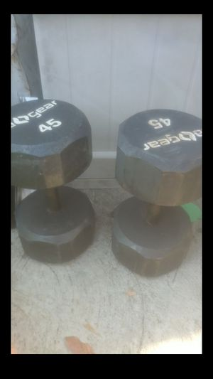 Dumbbells (45's) for Sale in Bell, CA