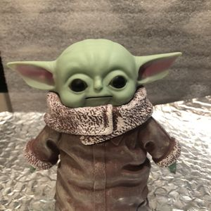 "The Baby Yoda Figure Mandalorian 5 3/4"" Tall Figurine plastic molded for Sale in Chicago, IL"