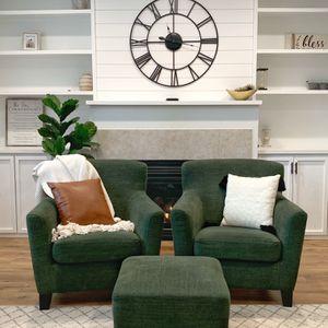 2 Beautiful Chairs And Ottoman for Sale in Auburn, WA
