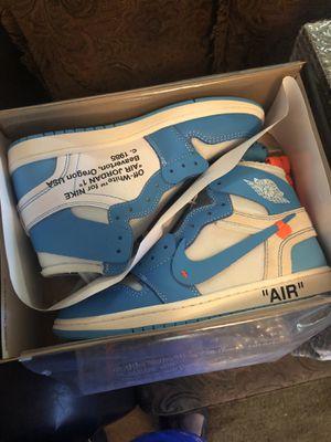 Jordan 1 Off white UNC Size 10.5 & 11 for Sale in Atlanta, GA
