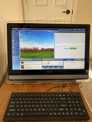 WOW all in one computer easy senior friendly for Sale in Aurora, IL