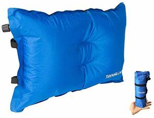 Self Inflating Camping/Lumbar Pillows - Compressible, Inflatable, Comfortable Air Travel Pillow Cushion for Back Support, Sleeping, Beach, Hiker for Sale in Torrance, CA