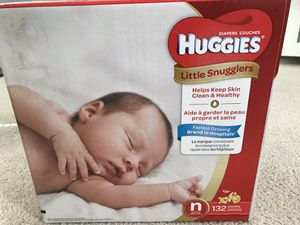 Huggies Diapers size N and 1 for Sale in Troy, MI