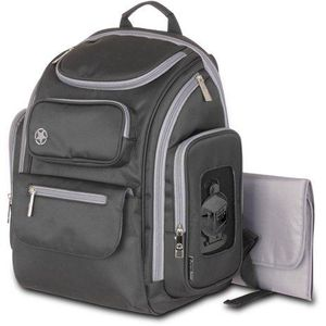 J is for Jeep Perfect Pockets Backpack Diaper Bag, Black/Grey for Sale in Houston, TX