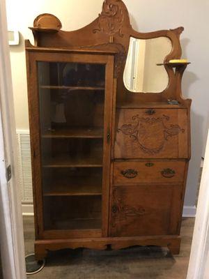 Antique oak side by side secretary. for Sale in Smyrna, TN