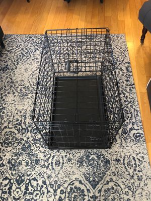 30 inch collapsible wire dog crate for Sale in Chicago, IL