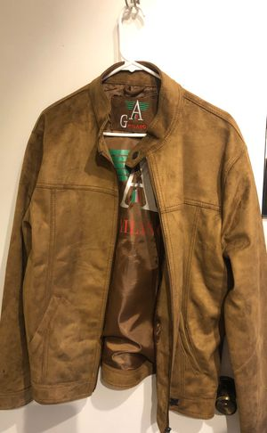 Men's Large/XLarge Leather Suede Jacket for Sale in San Diego, CA