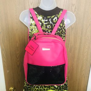 NWT Hot Pink Sequined Backpack Juicy Couture for Sale in Lansing, MI