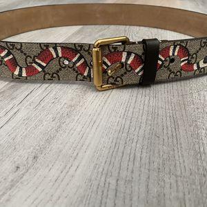 Gucci Snake Belt for Sale in Denver, CO