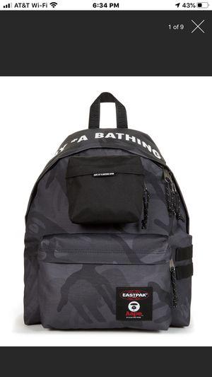 Eastpak Bathing Ape camo backpack for Sale in Boca Raton, FL