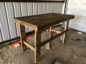 Handmade wood kitchen table! for Sale in Oklahoma City, OK