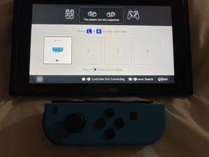 Nintendo switch blue joycon for Sale in San Antonio, TX