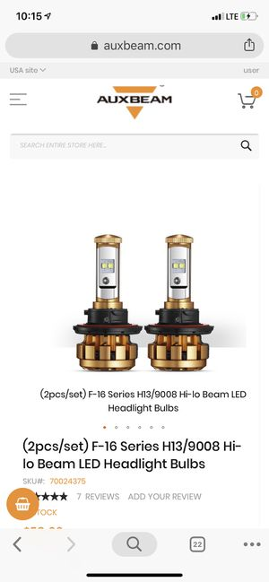 H-13/9008 Hi-Lo LED Headlights NEW NEVER USED!!!! for Sale in Nashville, TN