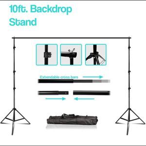 10' Extendable Photo Studio Background Support System Stand for Sale in Ontario, CA