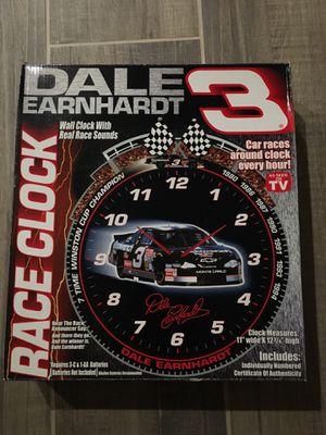 Dale Earnhardt Race Clock for Sale in Clovis, CA