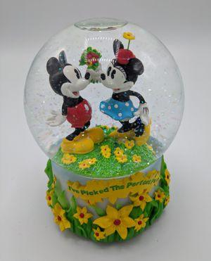Disney Enesco Mickey and Minnie globe for Sale in Seattle, WA