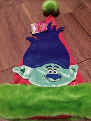 New Trolls red CHRISTMAS Santa Hat for ages 3+ for Sale in Pinellas Park, FL