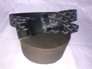 Black Men's Goyard Belt 95CM(32-34 inch waist) for Sale in Fort Washington, MD