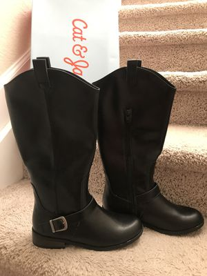 Girls boots sz 4. Like NEW for Sale in Palm City, FL