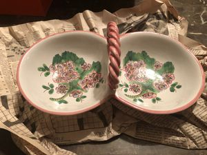 Italian Divided Serving Dish for Sale in Gilmer, TX