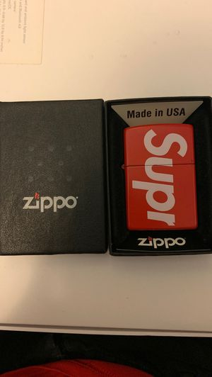 Supreme zippo for Sale in Los Angeles, CA