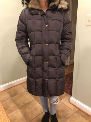 Women's Down luxe long coat for Sale in Silver Spring, MD