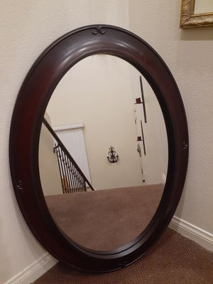 Large oval mirror for Sale in Santa Ana, CA