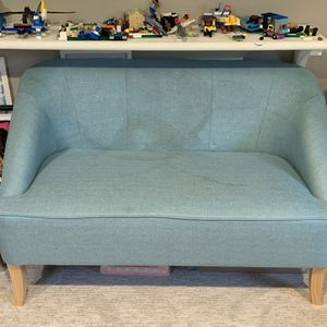 Small Light Blue/teal Couch for Sale in Estacada, OR