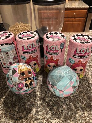 Brand new lol dolls unopened 60$ for all for Sale in Richmond, TX