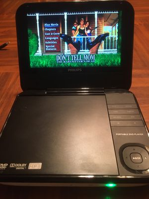 Phillips portable DVD player great condition for Sale in St. Augustine, FL