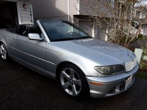 2004 BMW 325Ci Silver 5 Speed Manual for Sale in Puyallup, WA