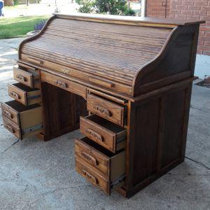 Rolltop Desk. Wood for Sale in Salt Lake City, UT