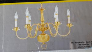 Chandelier: Hampton bay, colonial collection for Sale in Durham, NC