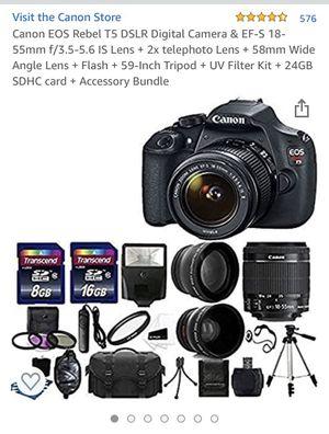 Canon EOS Rebel T5 DSLR Digital Camera for Sale in Everett, WA