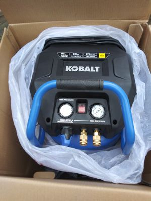 Brand new are compressor. Kobalt for Sale in Detroit, MI