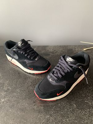 Nike Air Max 1 Bred Mini Swoosh Size 9.5 Excellent Condition. for Sale in Owings Mills, MD