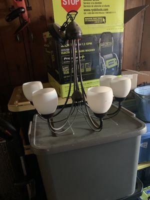 Chandelier/lighting fixture with five lights. for Sale in Burlingame, CA