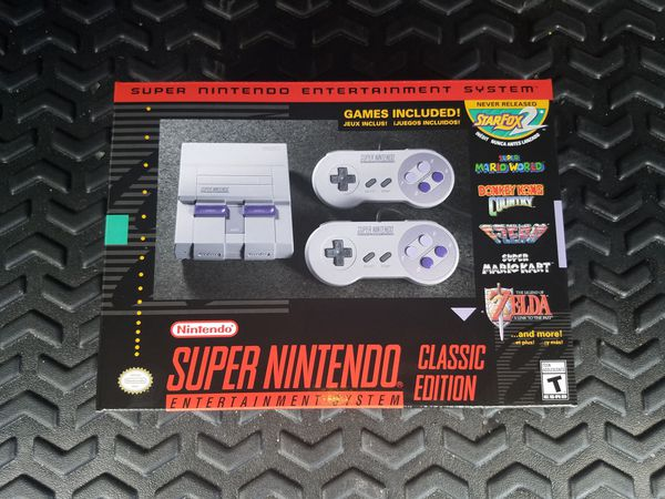 SNES CLASSIC Mint Condition