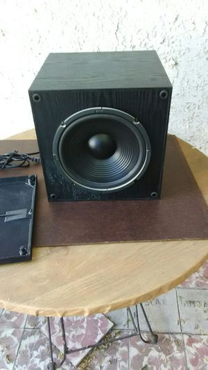 JVC active subwoofer 200 watts loud bass. Made in usa for Sale in Corona, CA