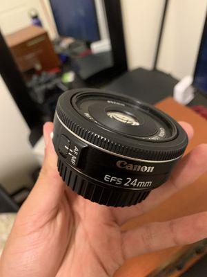 24 mm Canon EFS f 2.4 for Sale in Chula Vista, CA