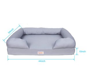 """New Qpets Extra large XL memory foam dog bed 44"""" for Sale in Ontario, CA"""