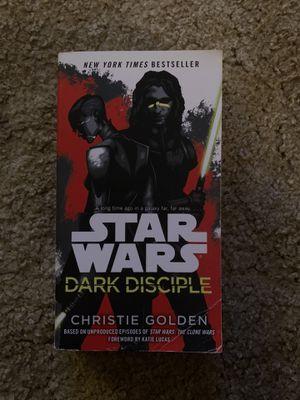Star Wars: Dark Disciple Paperback for Sale in Baytown, TX