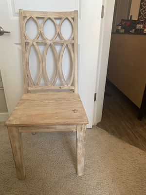 Wooden desk chair for Sale in Washington, DC