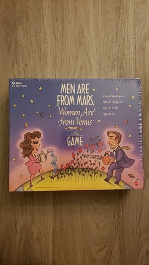 Board Game Men are From Mars, Women Are From Venus for Sale in Escondido, CA