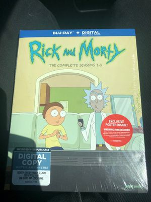 Rick and morty for Sale in Merkel, TX