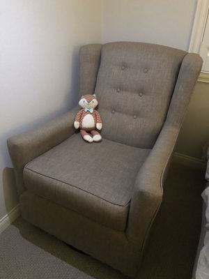 Rocking chair taupe for Sale in Escondido, CA
