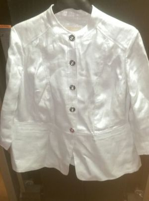 Michael Kors silver blazer size 16 W for Sale in Forest Heights, MD
