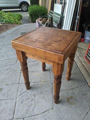 Antique CB Butcher Block Table for Sale in Concord, CA