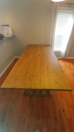 Pine wood Dining Table ( Open Box) for Sale in Bloomington, IL
